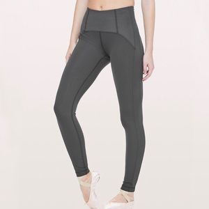 Lululemon Principal Dancer corsetry Tight 6